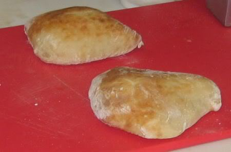 fresh bread, baked there