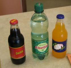 Cockta soda, Kiseljak mineral water, Jupi orange soda
