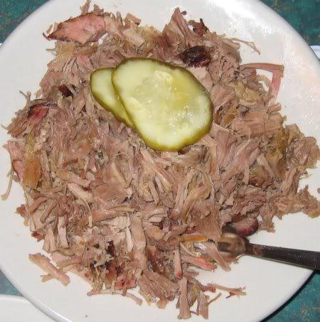 Dixie Bones BBQ, pork