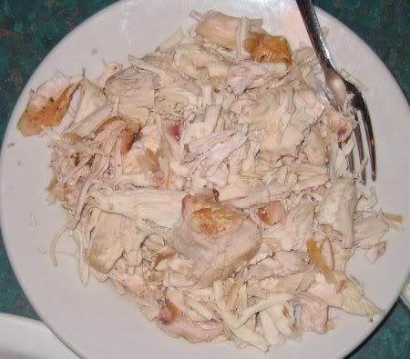 Dixie Bones BBQ, pulled chicken